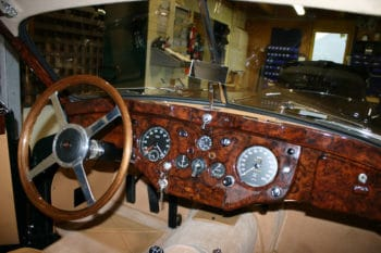 Oldtimer-Restaurierung am Beispiel eines Jaguar XK-140